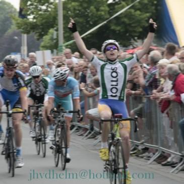 Martin Bauer winnaar 30e Omloop van Bedum